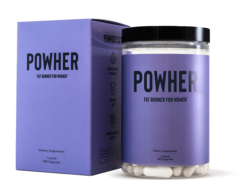 A tub and box of Powher