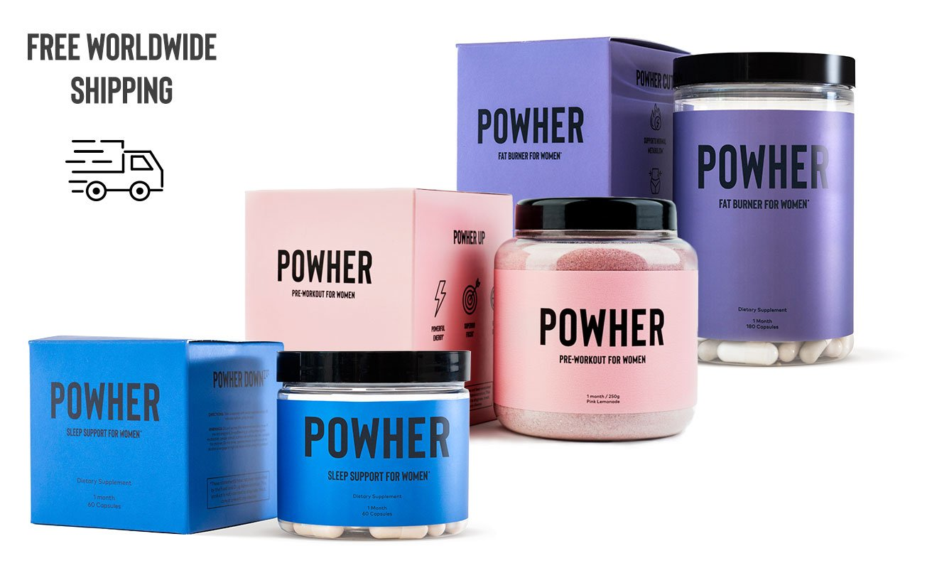1 box of every Powher suppliment. Cut, Pre workout and Sleep
