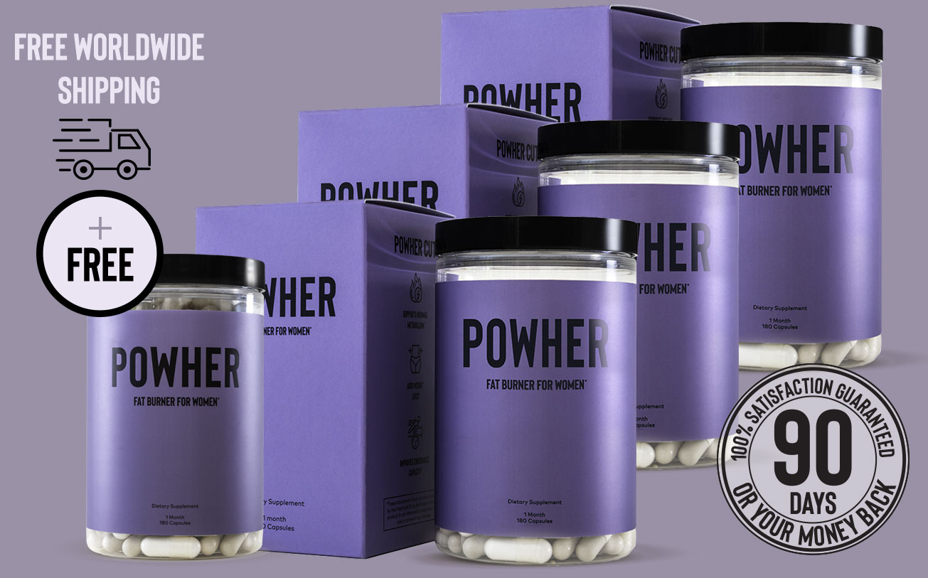 3 containers of Powher Cut plus one free box