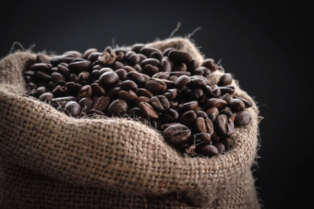 Coffee beans with enXtra