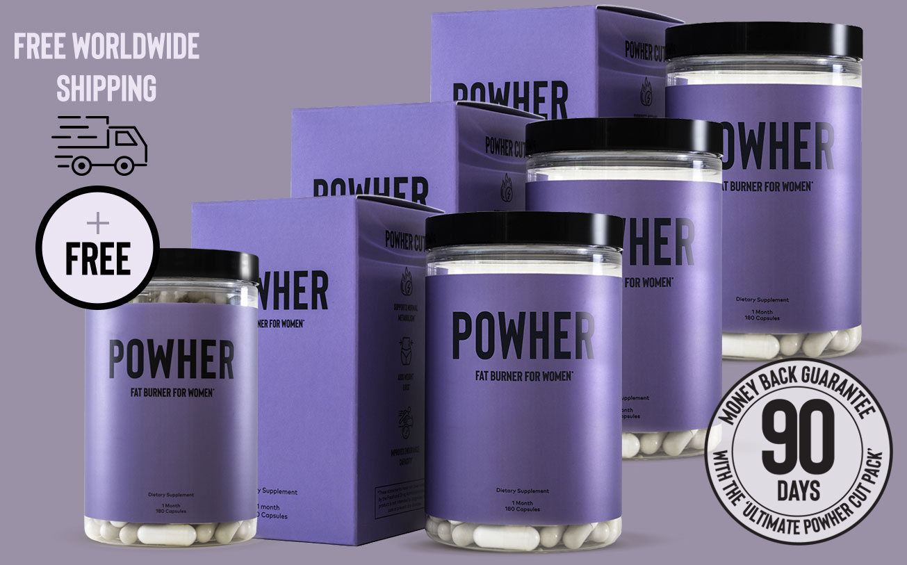 Conquer your goals with Powher's premium supplement packs